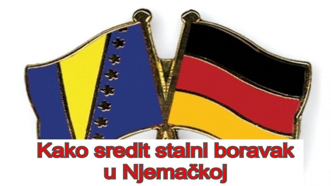 Kako sredit stalni boravak u Njemackoj